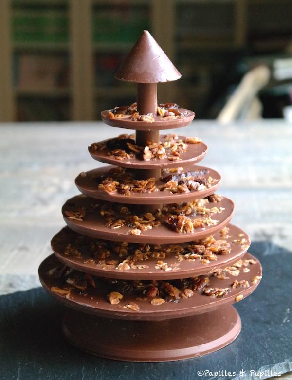 Un sapin de no l en chocolat sign alain ducasse - Faire un sapin de noel en chocolat ...