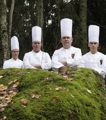 Equipe Finlandaise du Bocuse d'Or