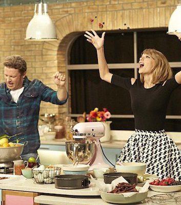 Jamie Oliver et Taylor Swift ©MailOnLine