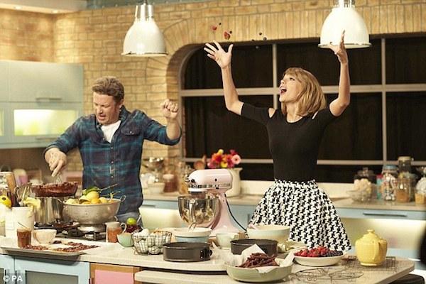 Quand Jamie Oliver et Taylor Swift s'associent pour la lutte contre le cancer