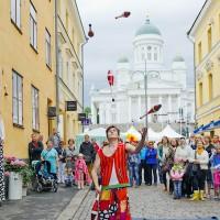 Jongleur Helsinki ©VisitFinland