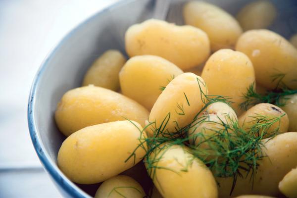 Pommes de terre à l'aneth ©VisitFinland
