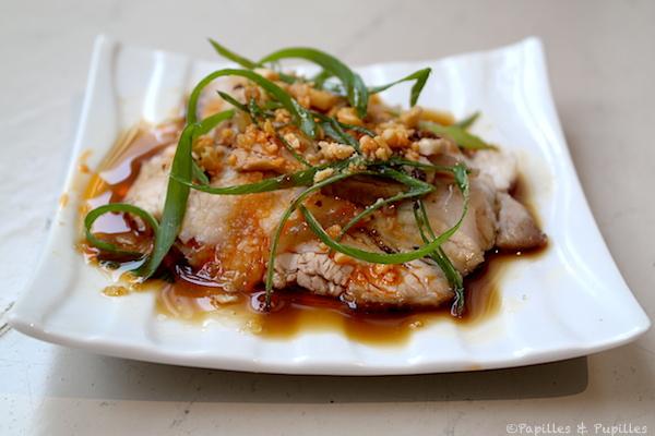Porc Sun Nai (sauce ail, piment, épices)