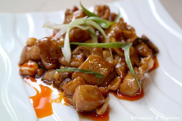 Poulet du Mandarin Gong Bao (poivre de Sichuan, huile rouge pimentée et cacahuètes)