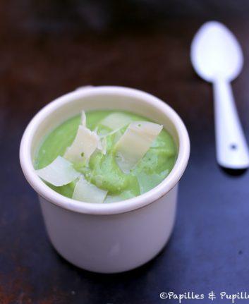 Soupe Parmesan Brocolis