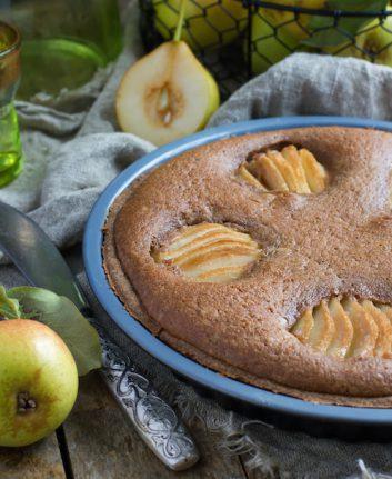 Tarte aux poires et à la crème de marrons
