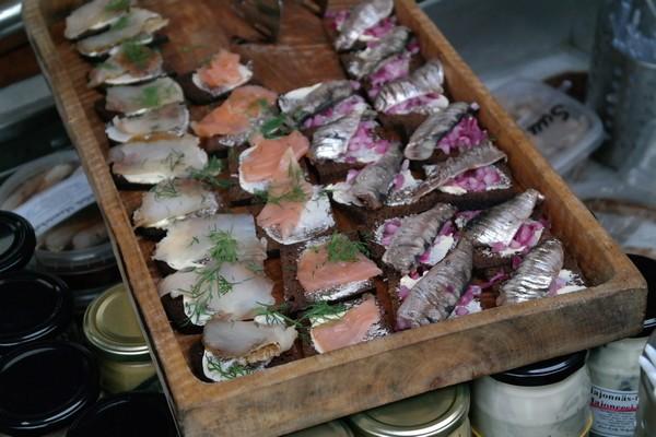 Tartines avec du hareng - Fête du hareng, Helsinki