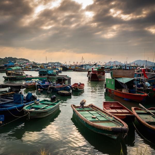Village de pêcheur Cheung Chau, Hong Kong ©Ivan Cheung shutterstock