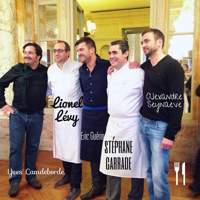 Une bien belle brochette de chefs au @ghbordeaux pour #BordeauxSoGood