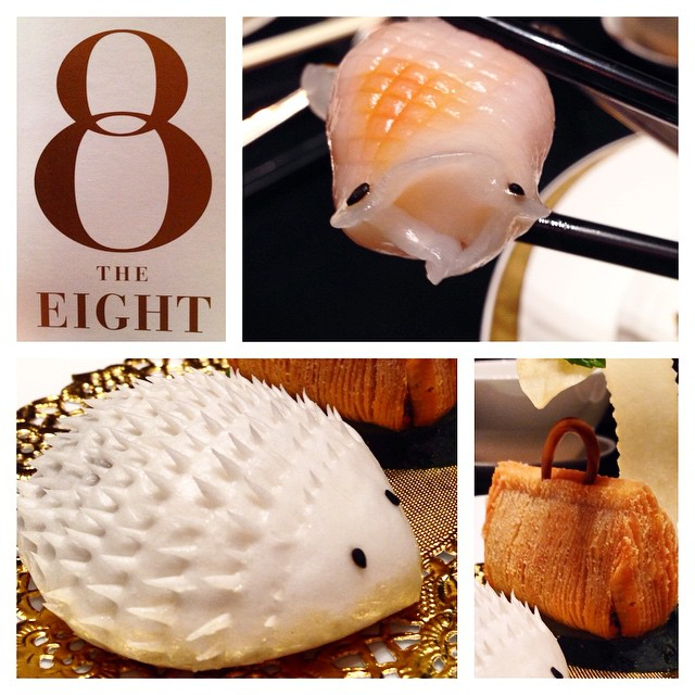 Les incroyables Dim sum du restaurant The Eight, Macao