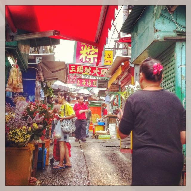Marché Graham Street - Hong Kong