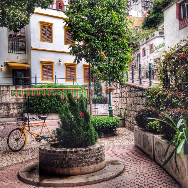 Lilau square, Macao