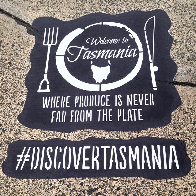 En Tasmanie on promeut la nourriture locale #visitTasmania #RestaurantAustralia