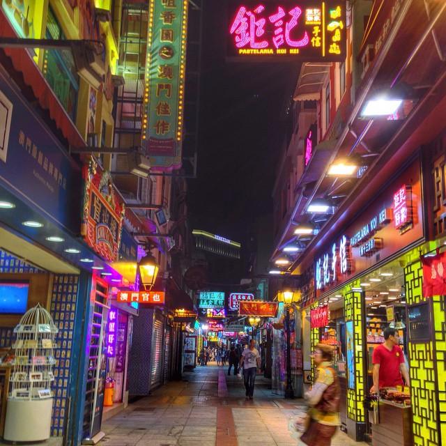 Cunha street, Macao