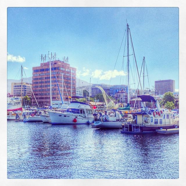 Le port - Hobart - Tasmanie