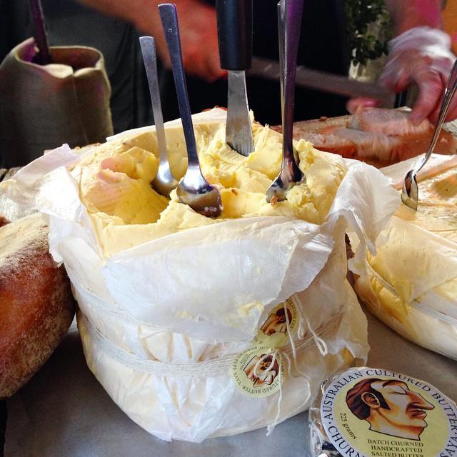 Beurre fait â la main #visitTasmania #RestaurantAustralia