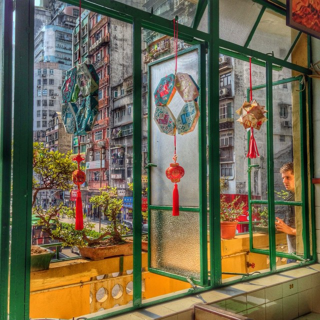 Long wa tea house, Macao