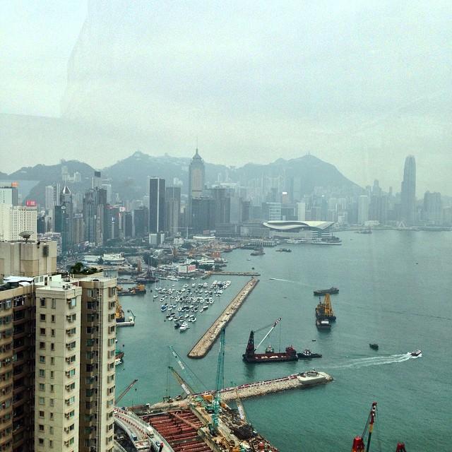 Debout, c'est l'heure ! Hongkong