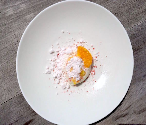 Campari, Mandarine et Sorbet  ©Christophe Michalak