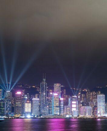 Hong Kong la nuit ©Discover Hong Kong