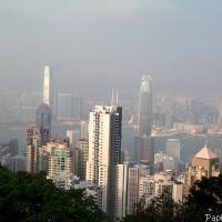 La baie de Hong Kong, vue du Peak