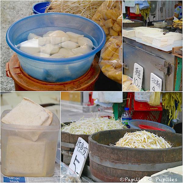 Le soja (et donc le tofu sous toutes ses formes) est roi