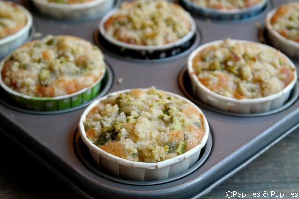 Muffins à la sortie du four