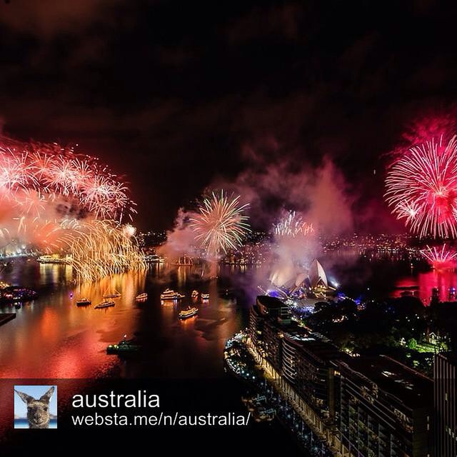 Happy new year @australia - I miss You