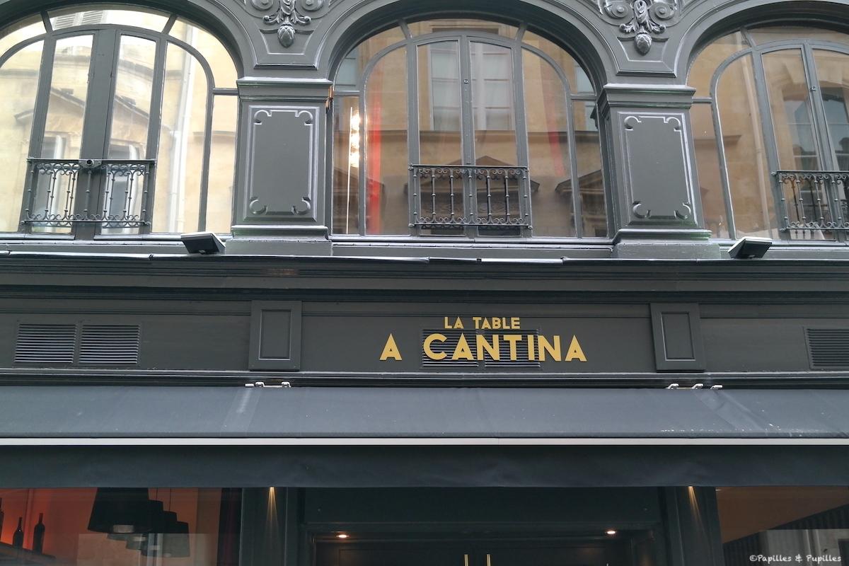 La Table A Cantina