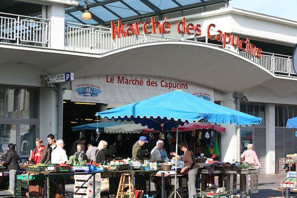 Marché des Capucins (photo Mairie de Bordeaux)