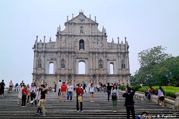 Ruines de Saint Paul - Macao