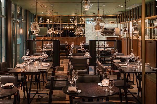 Salle de restaurant Aberdee Street Social - HOng Kong