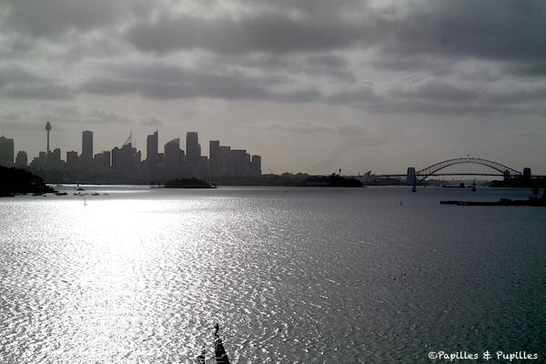 Vue sur Sydney depuis Nielsen Park - Vaucluse