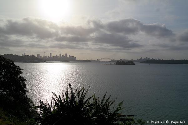 Vue sur Sydney depuis Vaucluse