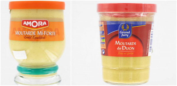 Verres à moutarde