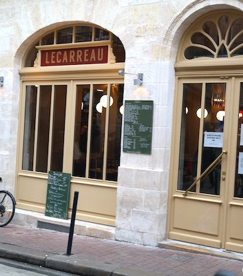 Restaurant le Carreau, Bordeaux