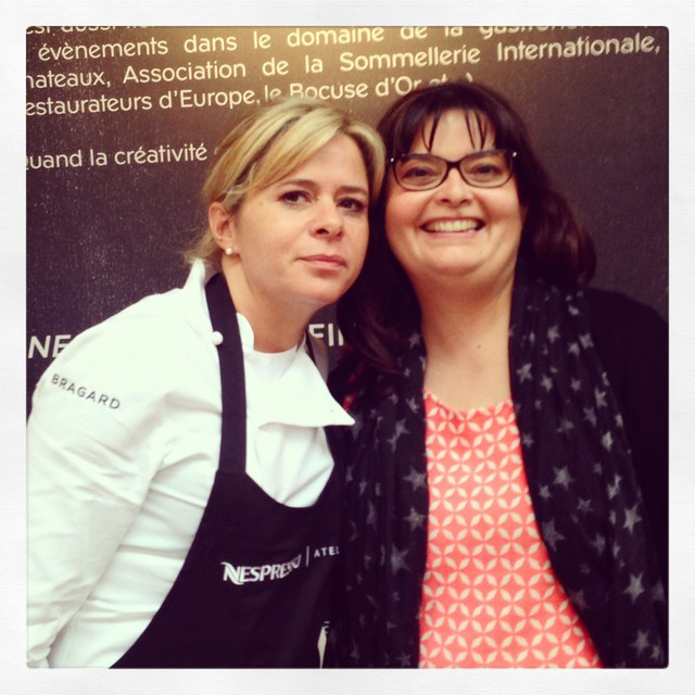 Christelle Brua - talentueuse et accessible - la classe #atelierNespresso