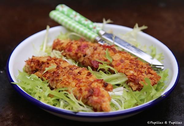 Aiguillettes de poulet croustillantes - Cuisiner aiguillette de poulet ...