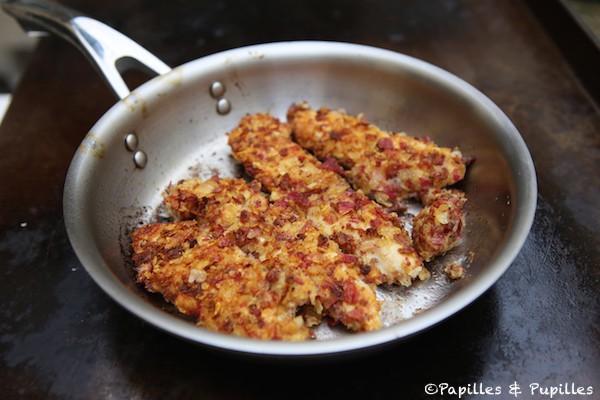 Aiguillettes de poulet croustillantes poêle