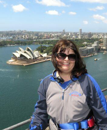 Anne - Climb the bridge - Sydney