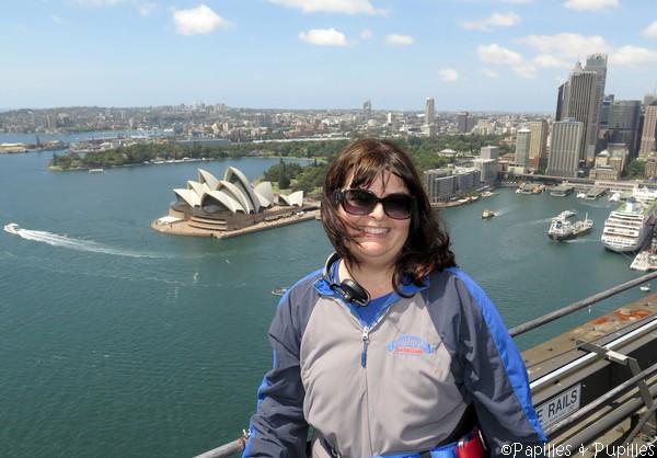 Anne - Sydney Harbour bridge