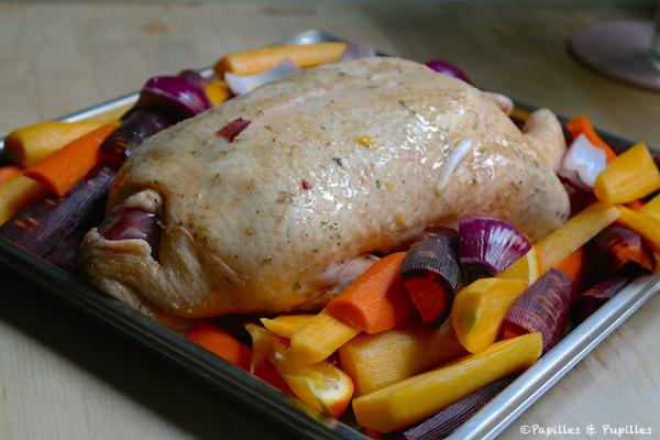 Canard avant cuisson