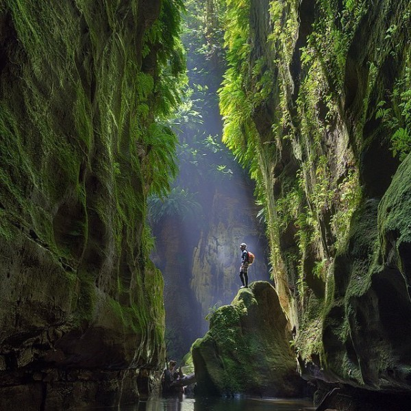 Claustral Canyon ©Lewisfogerty