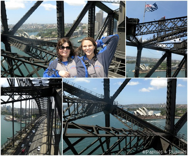 Sur le Sydney Harbour Bridge