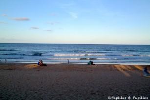 Coucher de soleil su Manly beach - Sydney