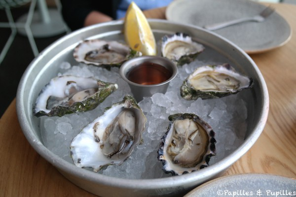Manly wines - Huîtres Sydney Rocks et Pacific