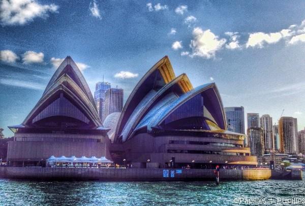 Opéra de Sydney - Vue du Ferry