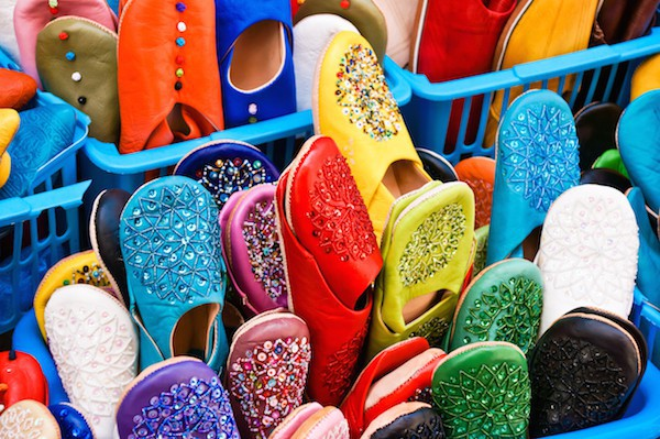 Pantoufles Marrakech © Pabkov shutterstock
