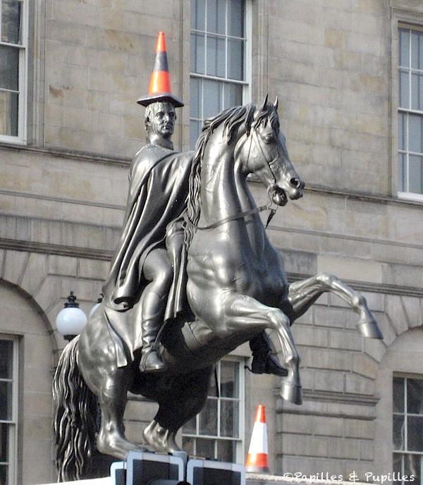 Statue du Duc de Wellington ©Morgan Johnston - licence CC BY 2.0