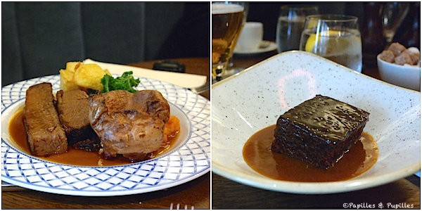 Sunday roast et Sticky Toffee pudding - The Raeburn, Edimbourg